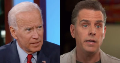 Joe Biden is allegedly involved in his son Hunter's controversial business dealings, new emails reveal