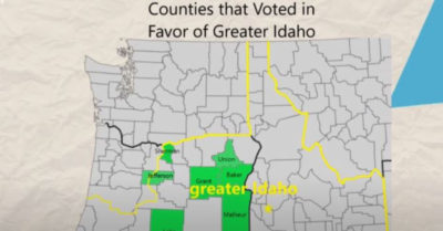 Tired of progressive policies, 5 Oregon counties voted to secede and join Idaho