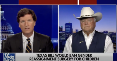 Texas: Sid Miller says 'gender modification has got to stop'