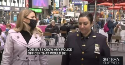 NYPD heroine saves child in Times Square shooting: Mother's instincts kick in