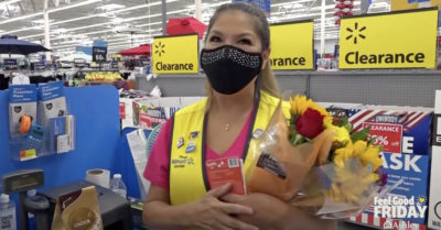 Walmart employee honored after selflessly buying items for customers