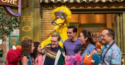 Child indoctrination: Sesame Street celebrates family day with gay couple as parents