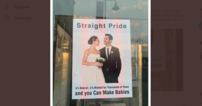 Homophobic hate on show in Waterford city again after more pride posters surface