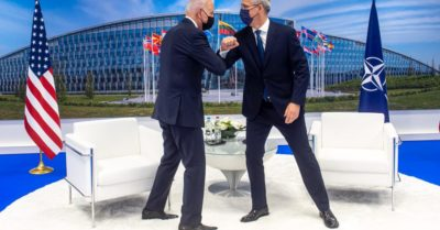 NATO, a pillar of globalism turned into a school of leftism