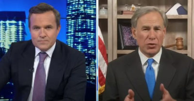 'I'm going to do the work on the border that Biden should be doing,' says Gov. Abbott of Texas