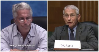 REVEALED: Epstein, Maxwell has deep connections with Fauci, Biden's science advisor, and the Clintons