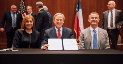 Gov. Abbott signs law to ban governments from closing houses of worship in Texas