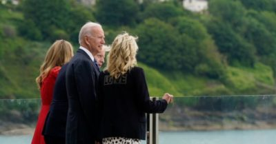 Biden says, 'I don't want to go home,' then Rep. Boebert tells him to stay in Europe