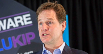 Fact-checkers may be applying their own political bias, admits Facebook Vice-President Nick Clegg