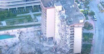 Damage caused by the collapse of the building in Miami: Deaths and missing persons