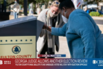 Georgia ballot case has delayed depositions of election workers