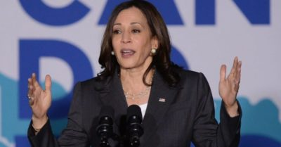 Kamala Harris calls on activists to 'knock on doors' of unvaccinated Americans