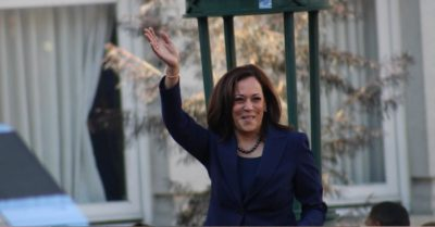 Kamala Harris joins Pride parade, becomes first Vice President to ever attend the event