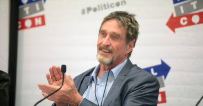 Mystery surrounding the death of businessman John McAfee in Barcelona prison