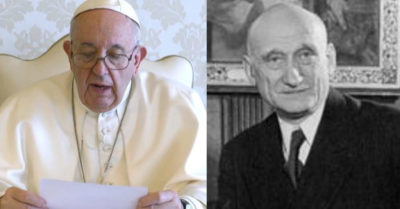 The Vatican wants to give politics a saint: Seeks to canonize European Union founder