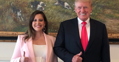 Trump helps GOP Chair Stefanik haul in $250,000 in fundraiser at his golf course