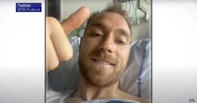 Denmark's Christian Eriksen released from hospital after a successful operation