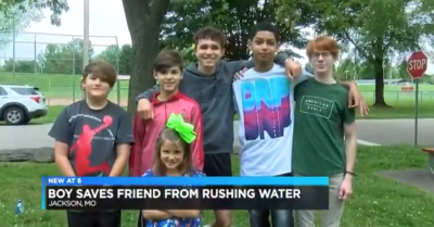 Missouri boys who saved a little girl from dangerous culvert rewarded lifetime free burgers