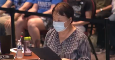 'Critical race theory is a tool of communism': poignant speech by Chinese mother to her school board