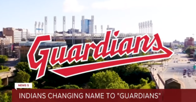 Former President Trump responds to Cleveland Indians name change