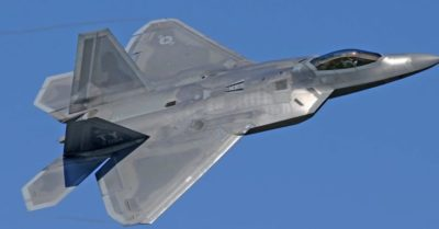 US sends F-22 Raptors to the Pacific preparing for potential conflict with China