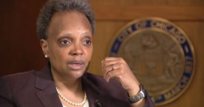 Democrat Chicago Mayor Lightfoot stands by prioritizing non-white reporters