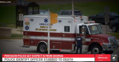 Police officer attacked and killed outside the Pentagon has been identified