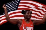 'I love representing the United States': Black medalist surprises with her praise for God and the US