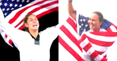American athletes with strong patriotic sentiment are winning more Olympic medals than anti-patriots