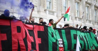 New York: Pro-Palestinian rally promotes 'globalizing violence against Israel'