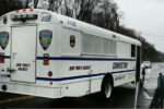 Rikers Island Inmate steals a bus and crashes it into a wall