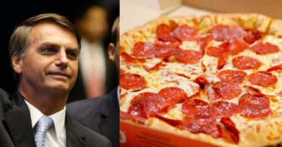 Brazil president has to eat pizza on NYC sidewalk due to vaccine mandate