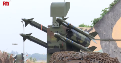 Taiwan deployed its missile defense system after the CCP's biggest air intimidation of the island