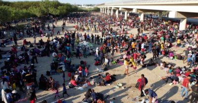 More than 200,000 illegal migrants pour into the border in August, 4 times more than August 2020