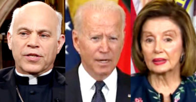President Biden, Speaker Pelosi cannot be 'good Catholics' if they support abortion says archbishop