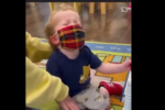 Huge backlash over video of a child crying because he is forced to wear a mask