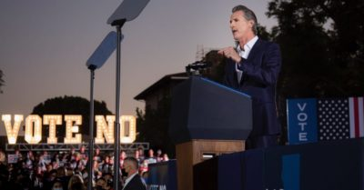 Rural Californians disappointed after Gov. Newsom survives recall election
