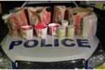 Two men accused of breaking COVID lockdown found with large amount of KFC chicken and french fries