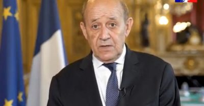 France recalls its ambassador from US in protest of submarine deal