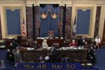 Senate Republicans vote against Democrats' bill to hike debt limit, and fund government spending