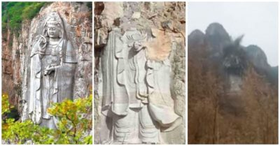 China destroys world's largest statues, Chinese say it's a slap in the face