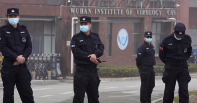 The hoax about the origin of China's COVID-19 virus.