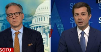 CNN mentions supply chain crisis, Buttigieg says it's partly thanks to Biden's successful management