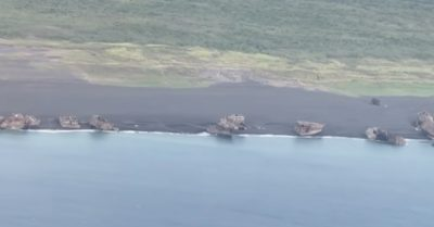 Ghost ships sunken during WWII suddenly rise to surface on Japan's iconic island