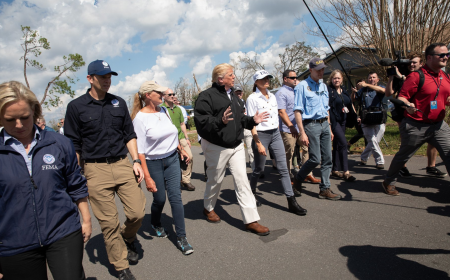 President Trump and First Lady Melania Trump visited Florida and Georgia