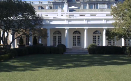 The White House is hosting its annual Fall Garden Tours