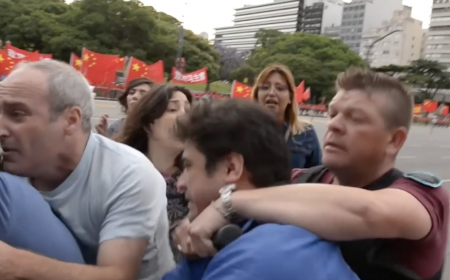 Argentinians arrested at G-20 based on China's lies