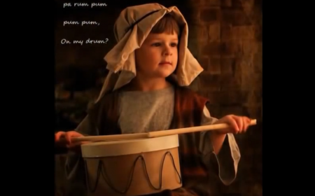 """The classic Christmas song """"The Little Drummer Boy"""""""