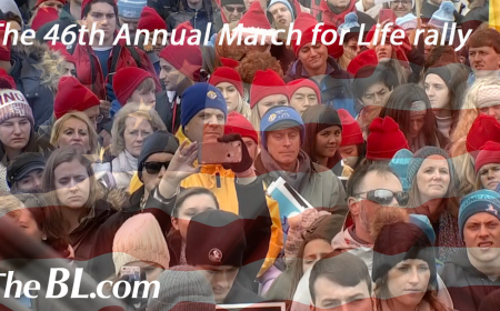 The BL news-The 46th Annual March for Life rally