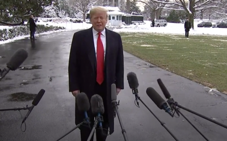 Trump issues statement about Russia collusion